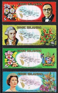 Cook Islands SG306-309 South Pacific Conference set 4v complete mounted mint